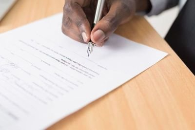 Sign Documents before Notary Public