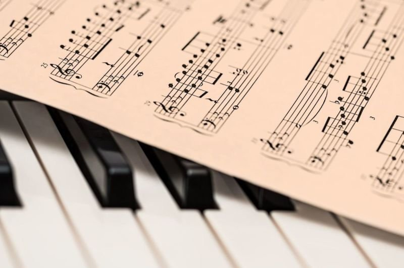 Harp + Piano Lesson, Theory + Aural Training