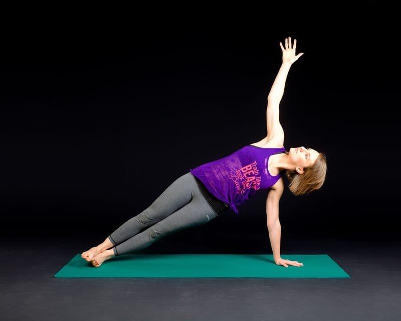 Tabla de ejercicio basados en el Pilates