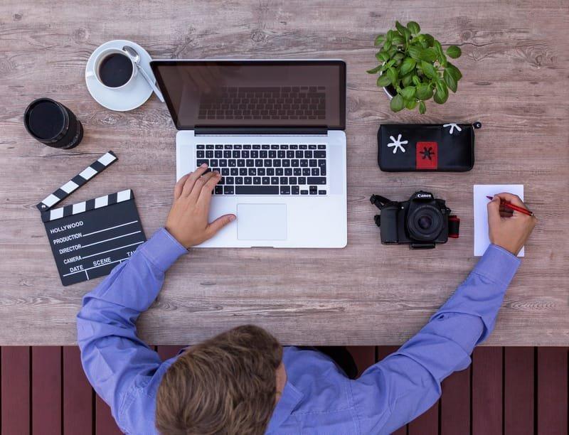 Screen writing and set design.