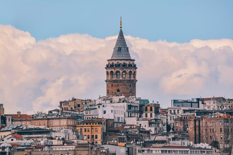 برج غلطة في اسطنبول