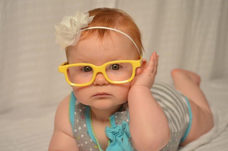 Støtte til briller til barn