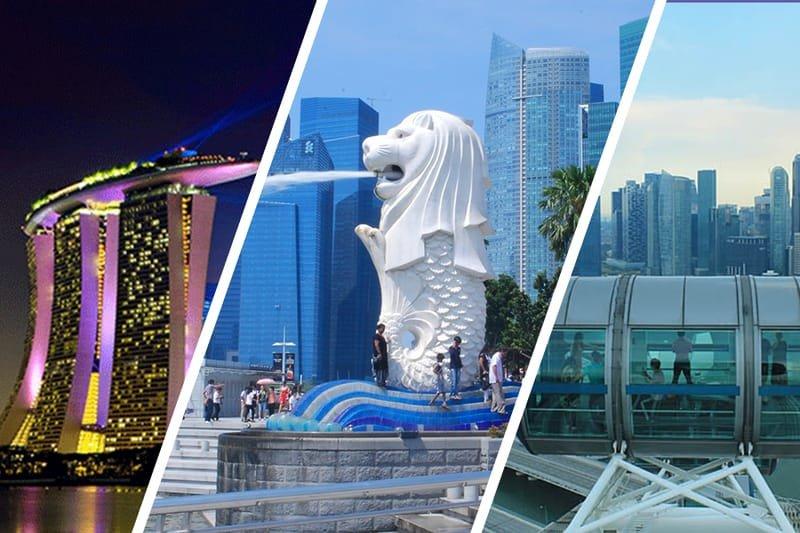 Singapore, Indonesia, Malaysia