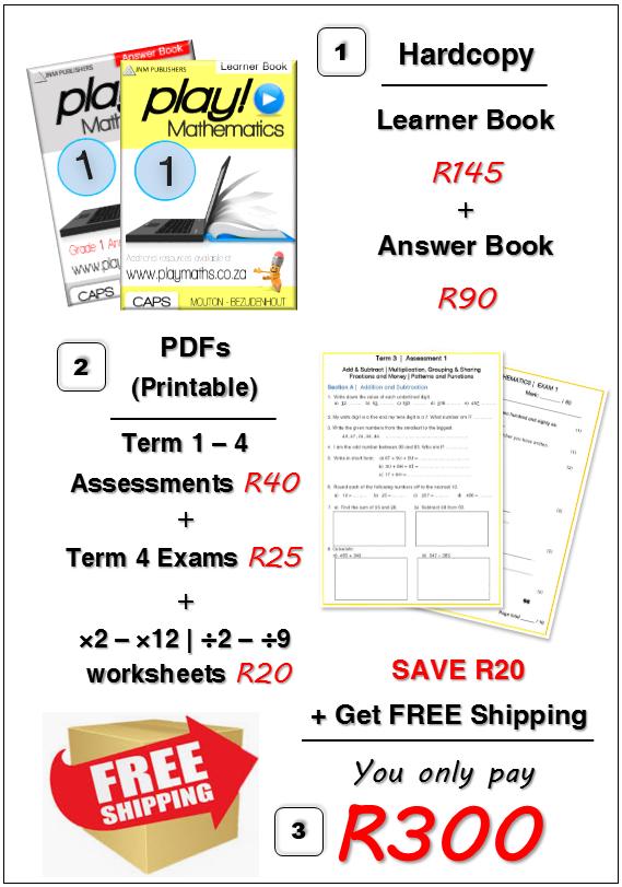 Gr 1 Bundle Deal - Maths/ Wiskunde