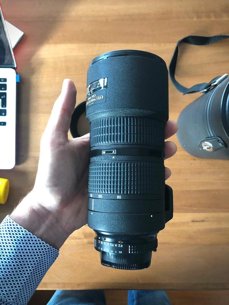Nikon 80-200 ED D - Bighiera - Perfetto !