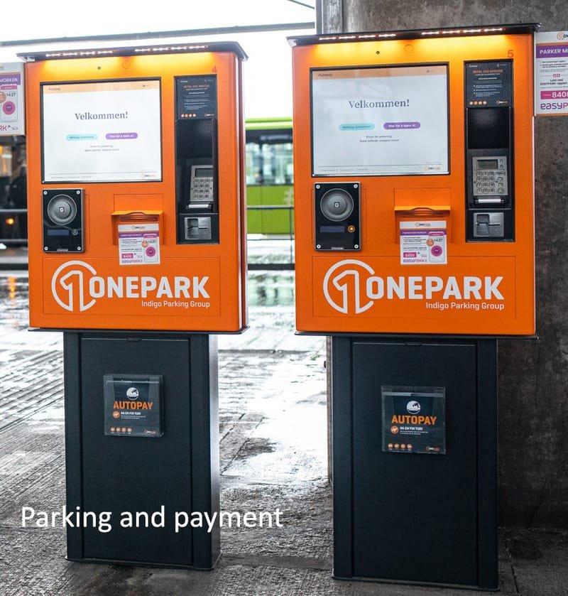 Parkering och övriga betalkiosker