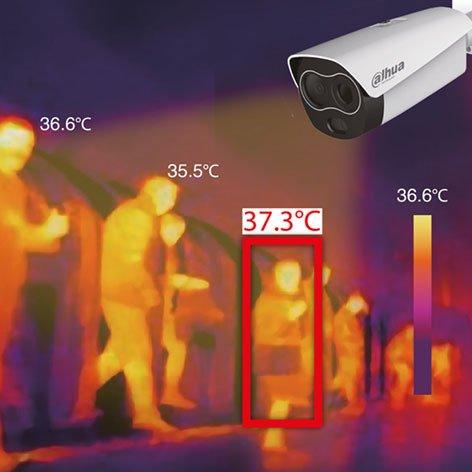 מערכת מדידת חום אוטומטי