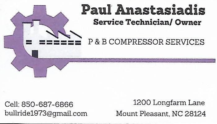 P & B COMPRESSOR SERVICE