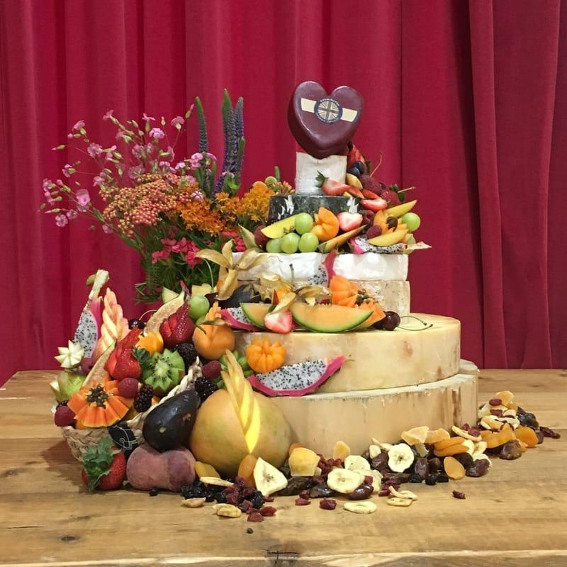Cheese wedding cakes