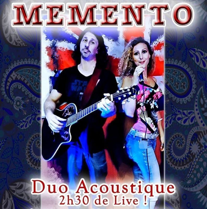 MEMENTO duo, covers pop, rock