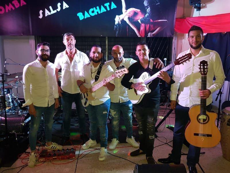 FLAM quartet, quintet sextet, Salsa( bachata/merengue,salsa) Gipsy ( rumba, flamenco)