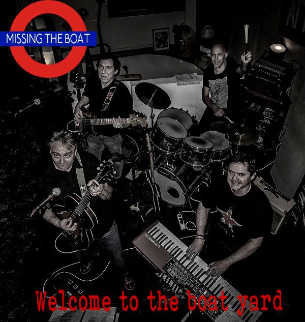 MISSING THE BOAT groupe ( 4 musiciens) pop, rock, reprises anglaises- françaises