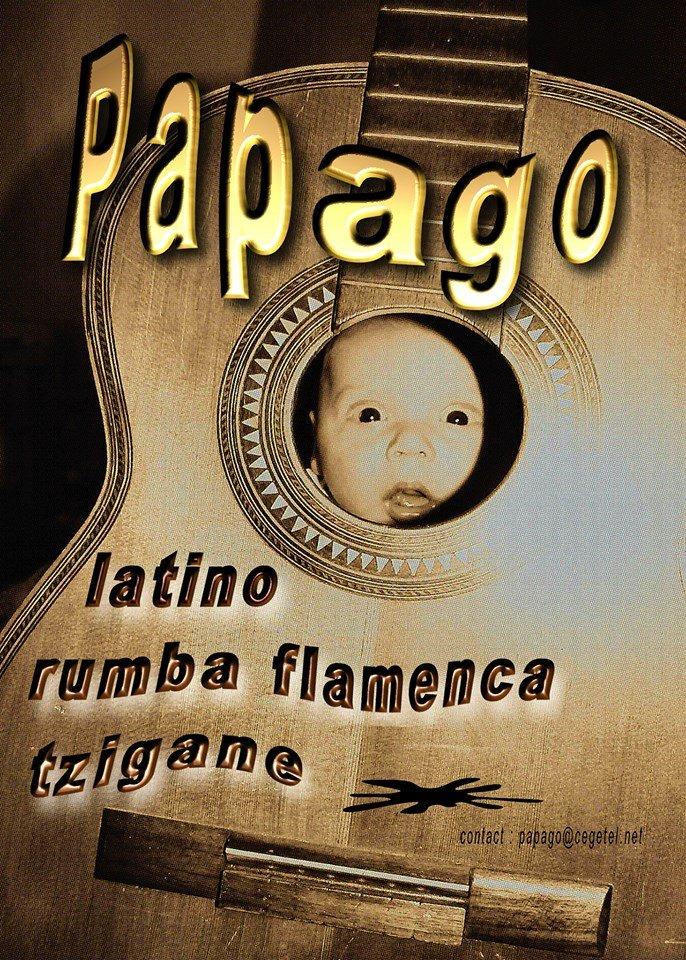 PAP duo ,rumba flamenca avec un zeste de ritmo latino russe
