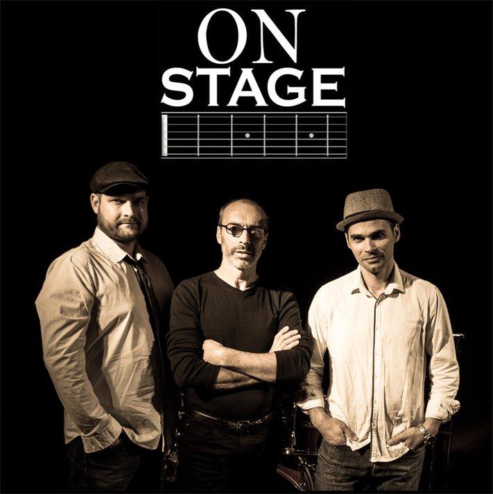 ON STAGE Trio pop, folk, funk, rock, reggae et chansons Française