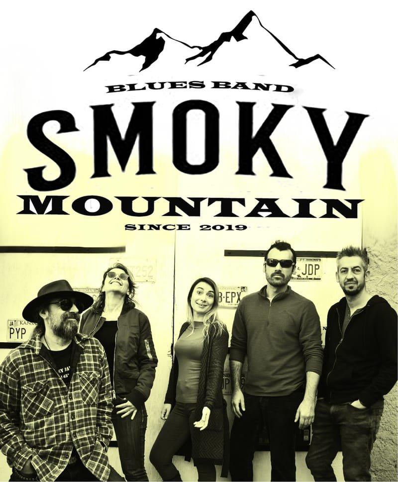 SMOKY MOUNTAIN quintet, blues, rock covers et compos