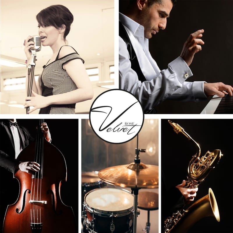 VELVET ROSE, duo, trio, quintet,  covers internationnaux