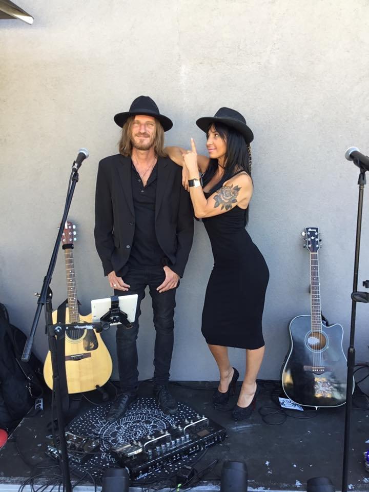 SARAH JHONES duo,  Blues Rock Et Soûl.