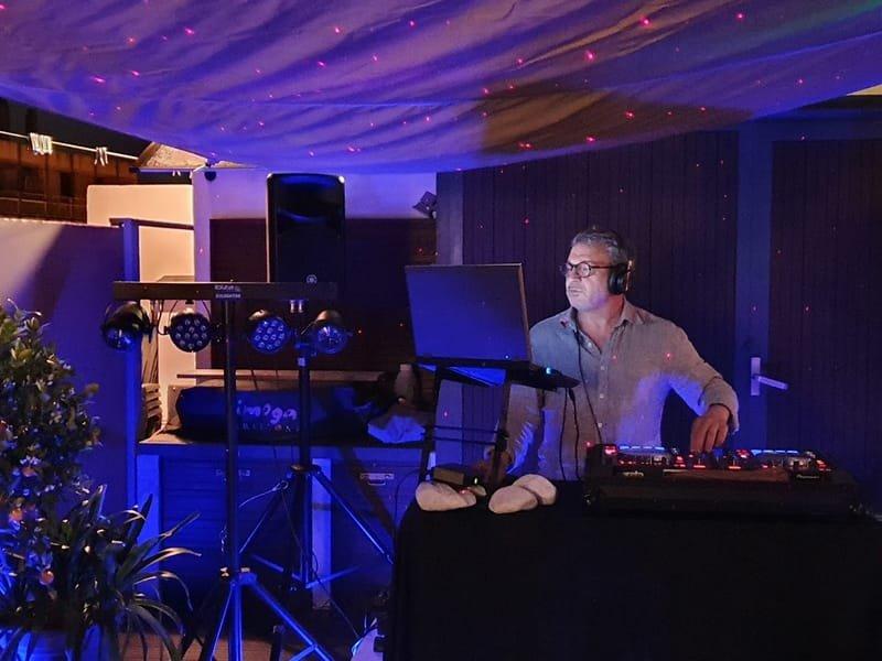 DJ M., dj et artificier