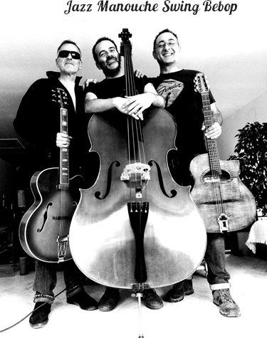 BONA TRIO, jazz manouche, swing, bebop