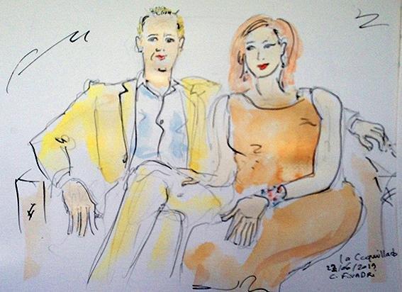 Carolina Finadri, caricaturiste