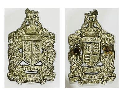 Second Pattern Headdress Badges - Copies