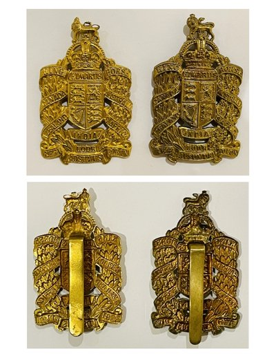 Second Pattern Officer's Headdress & Collar Badges