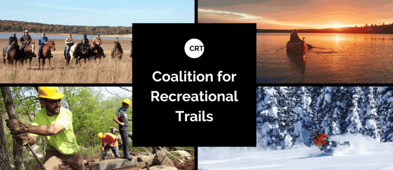 NATATIONAL AWARD FROM COALITION FOR RECREATIONAL TRAILS