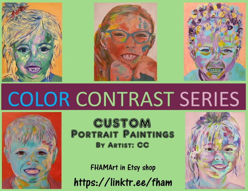 COLOR CONTRAST SERIES by CC