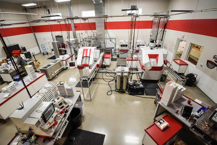 Freeform Polishing Machine parts