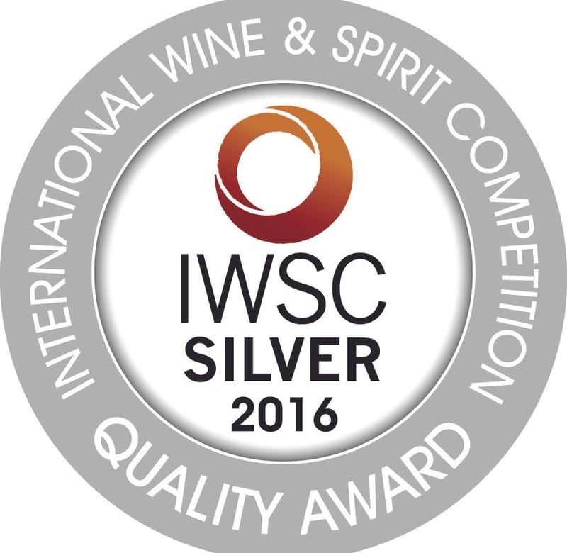 IWSC 2016 : GIN & TONIC Silver Medal