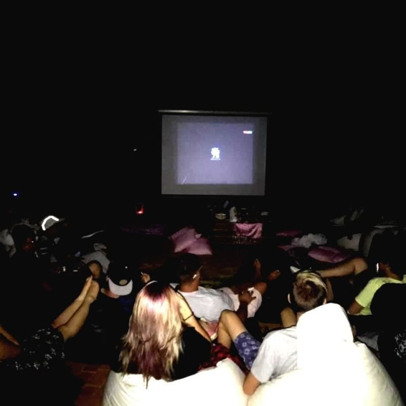 MOVIE NIGHT AT YOUR HOME