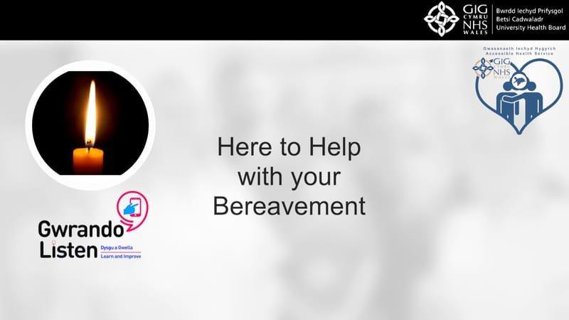 Bereavement Services