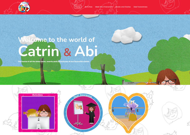 Catrin and Abi Website