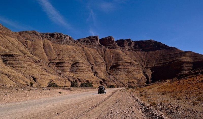 THE DESERT SKY'S THE LIMIT OVERLAND MOROCCO  TOUR.