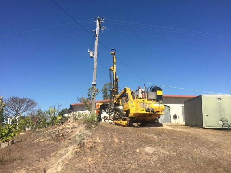 Electrical Earth Drilling.