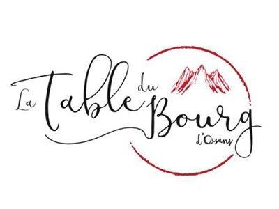 """Restaurant """"LA TABLE DU BOURG"""""""