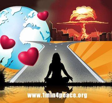 מדיטציה One Min For Peace