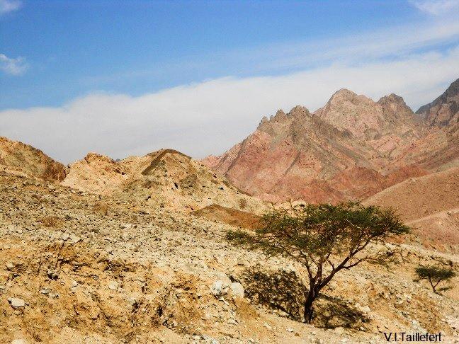 The granitic areas of South Jordan