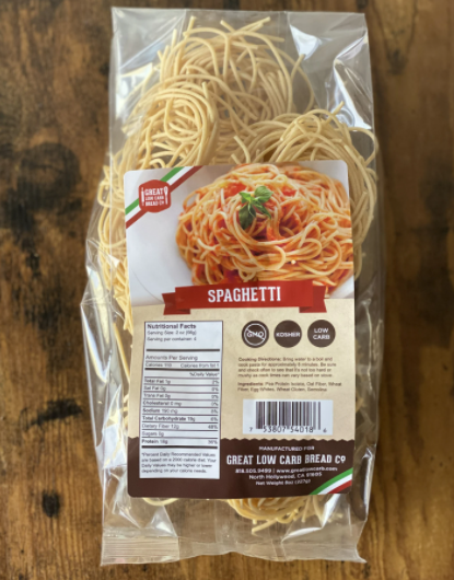 Great Low Carb Bread - Pasta