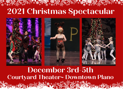 Save The Date For Our 2021 Christmas Spectacular