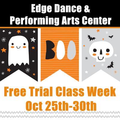 Free trial week! Oct 25th-30th