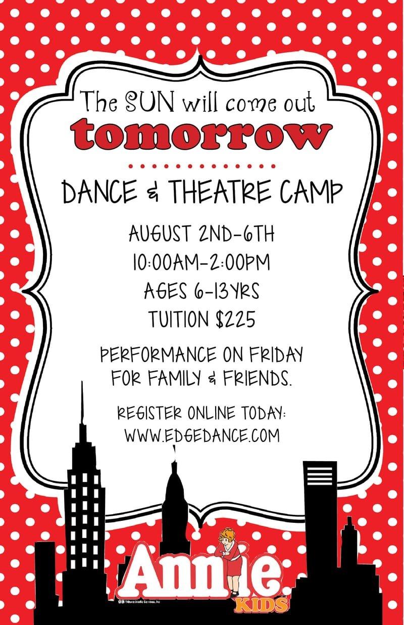 Dance & Theatre Camp (Annie Kids)