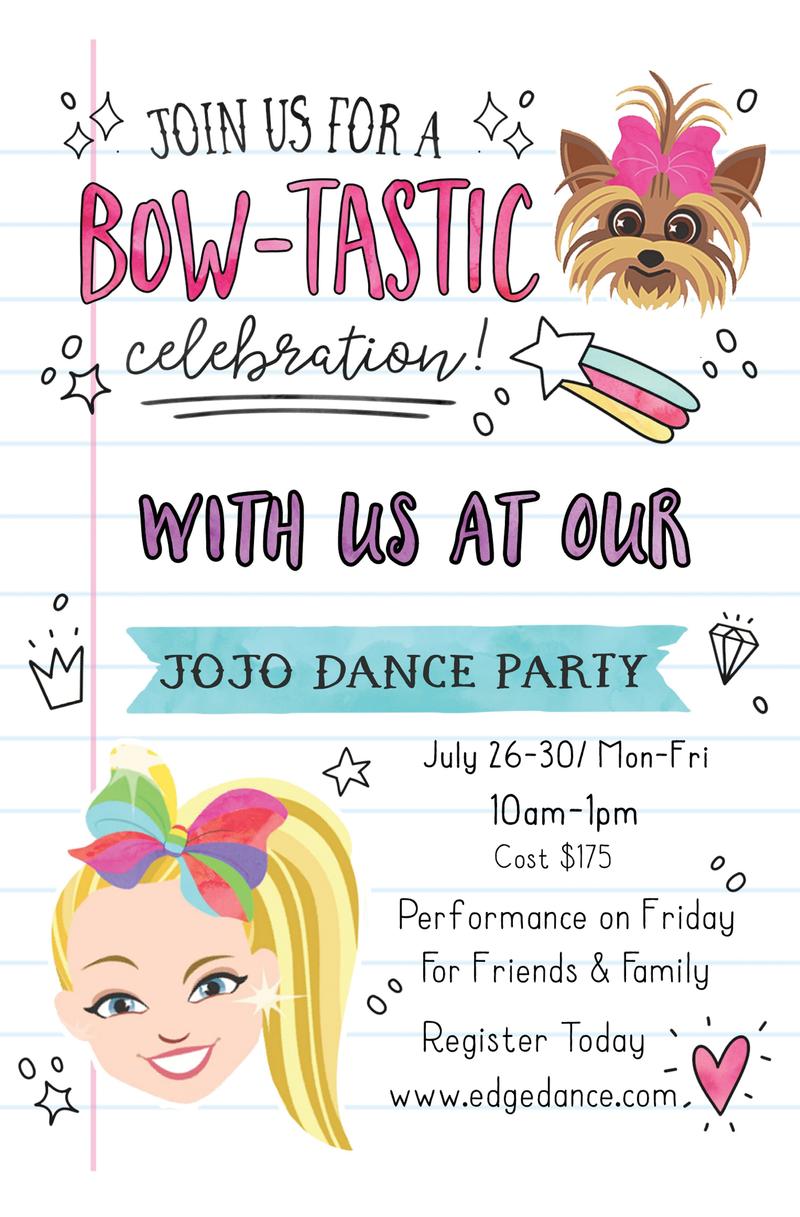 JoJo Dance Party Summer Camp