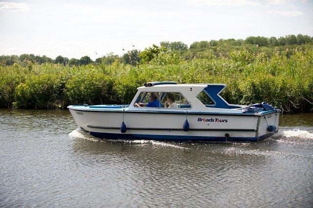 Norfolk Broads Day Boat Hire