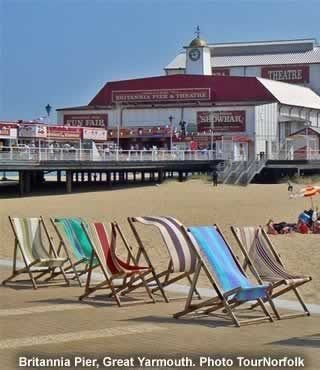 Great Yarmouth Seaside And Attractions