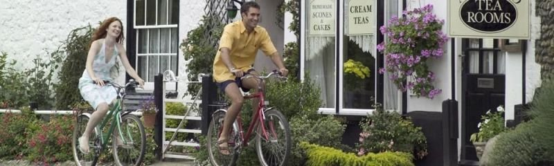 Cycle Through The Countryside Villages