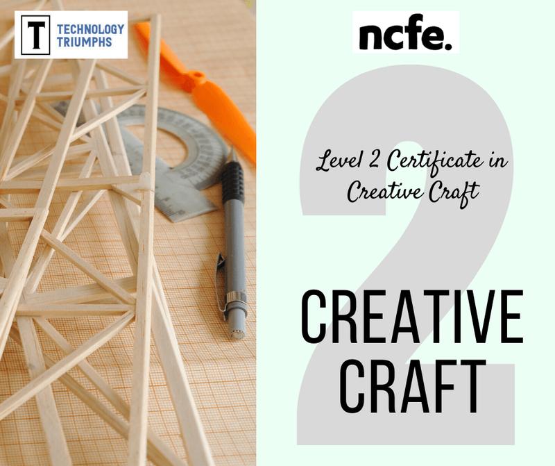 Level 2 Certificate in Creative Craft