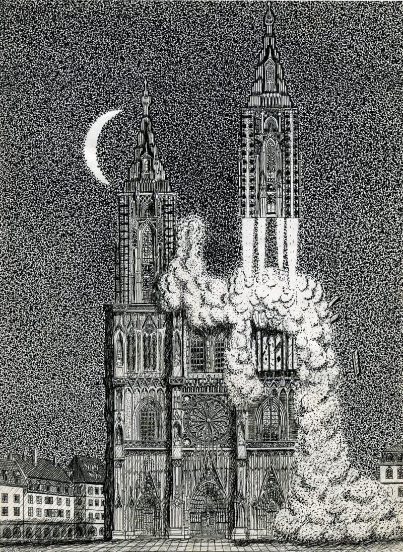 La cathédrale de Strasbourg
