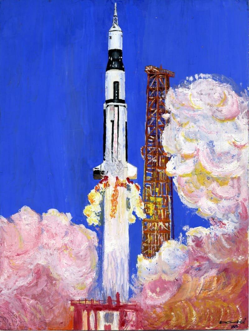 Lancement Apollo 11