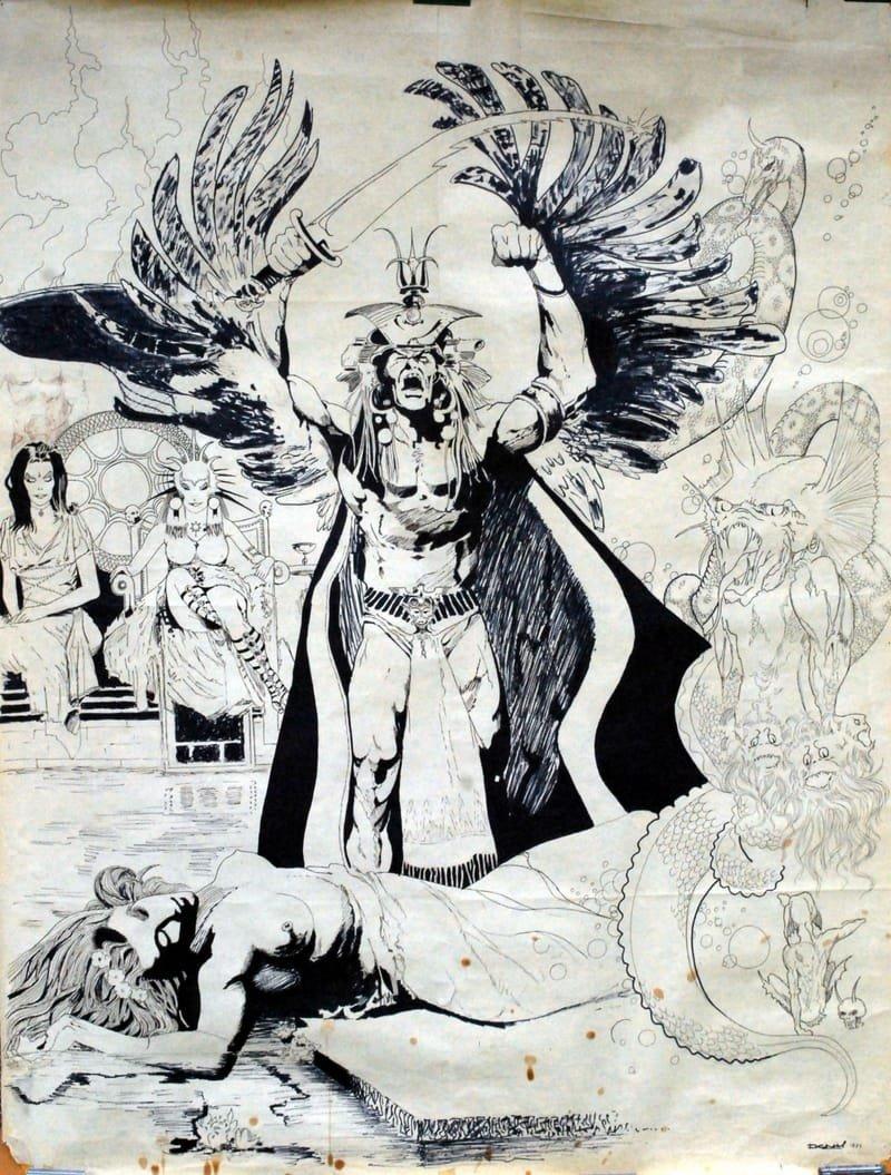Poster d'après bande dessinée de Ramon Torrents